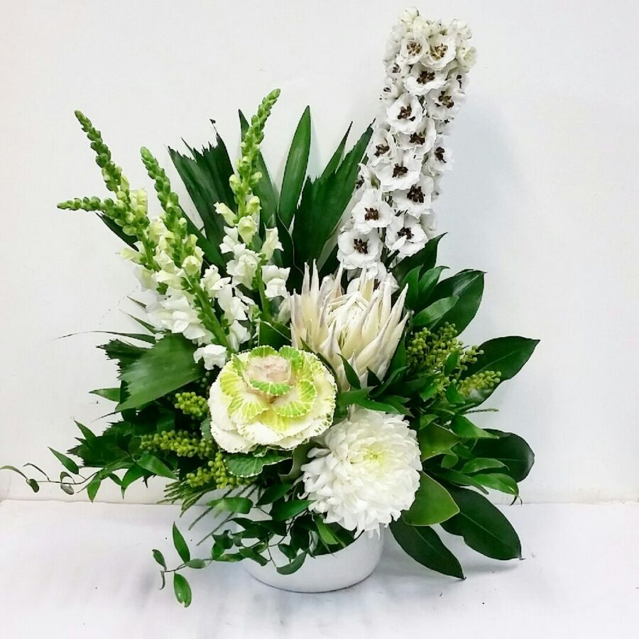 Stylish White Bouquet